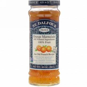St. Dalfour, オレンジ・マーマレード、デラックス・オレンジ・マーマレード・スプレッド、10オンス(284 g)