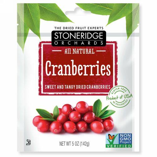 Stoneridge Orchards, クランベリー、 スイート& タンジー ドライ クランベリー、 5 oz (142 g)