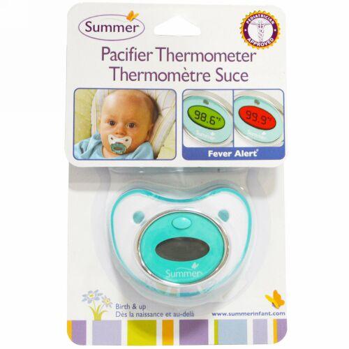 Summer Infant, おしゃぶり温度計、0歳から使用可能 (Discontinued Item)