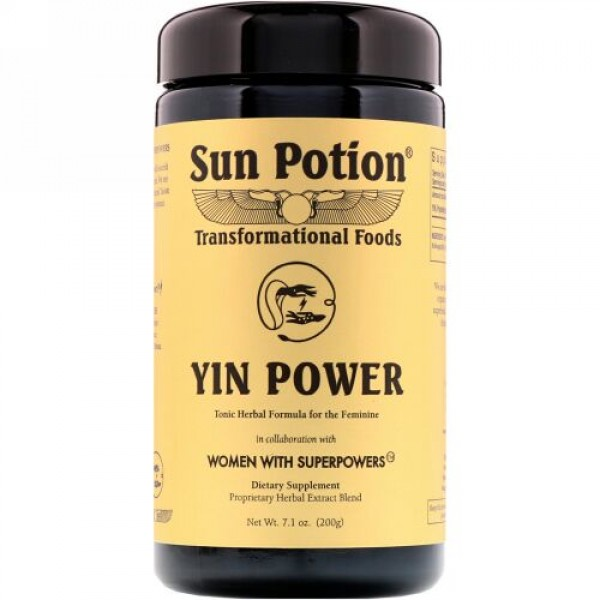 Sun Potion, 陰の力、スーパーパワーを持つ女性、7.1 oz (200 g) (Discontinued Item)