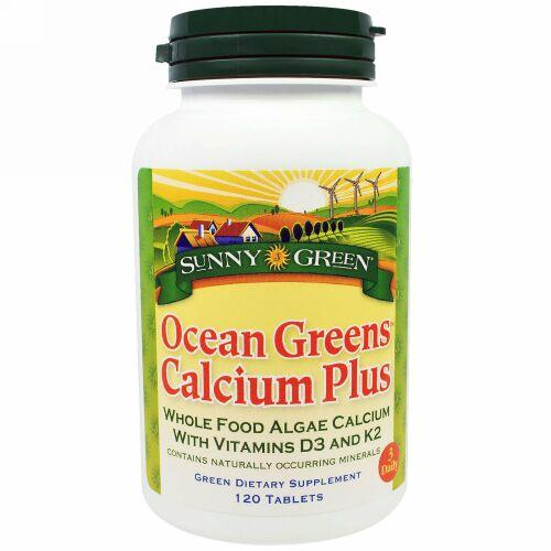 Sunny Green, オーシャングリーンカルシウムプラス, 120錠 (Discontinued Item)
