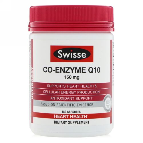 Swisse, Ultiboost, Co-Enzyme Q10, 150 mg , 180 Capsules (Discontinued Item)