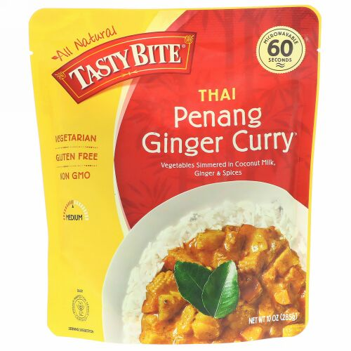 Tasty Bite, Thai, Penang Ginger Curry, 10 oz (285 g) (Discontinued Item)