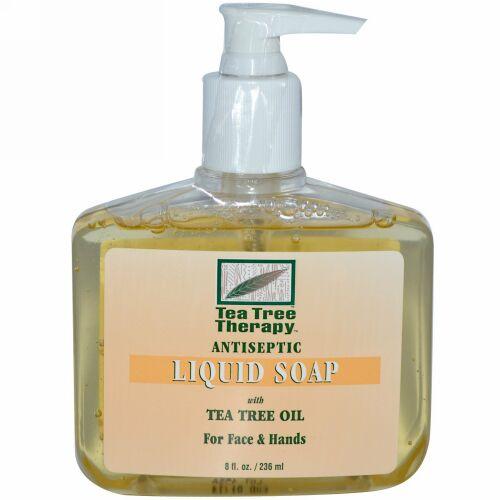 Tea Tree Therapy, アンチセプティック、リキッドソープ、8 fl oz (236 ml) (Discontinued Item)