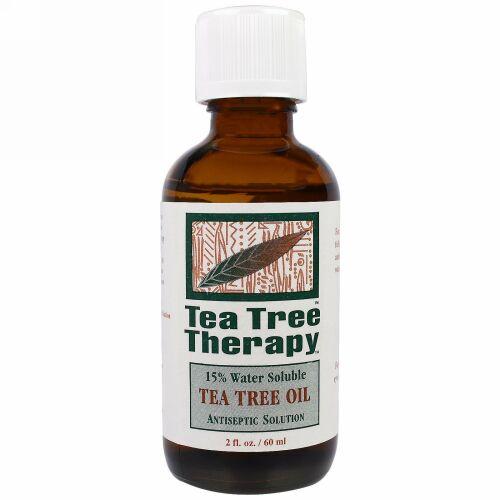 Tea Tree Therapy, ティーツリーオイル、2液量オンス(60 ml)