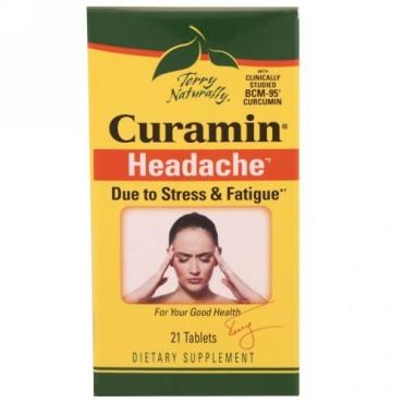 Terry Naturally, クラミン、頭痛に、21錠 (Discontinued Item)