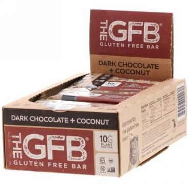 The GFB, グルテンフリーバー、ダークチョコ+ココナッツ、12本、各58g (Discontinued Item)