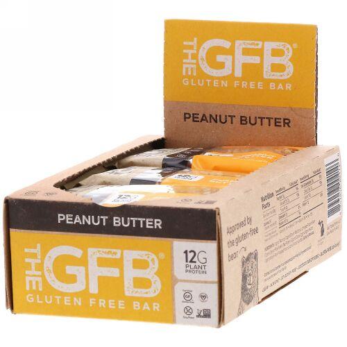 The GFB, グルテンフリーバー、ピーナッツバター、12本、58g (Discontinued Item)