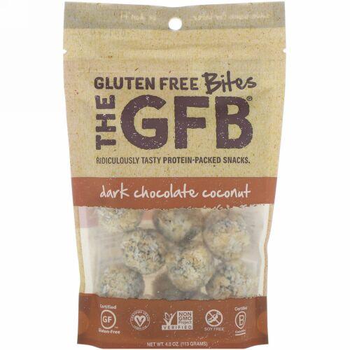 The GFB, グルテンフリーバイツ、ダークチョコレートココナッツ、113g(4.0oz) (Discontinued Item)