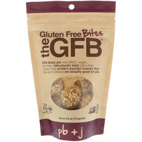 The GFB, グルテンフリーバイト、 PB + J、4 oz (113 g) (Discontinued Item)