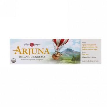 The Ginger People, Arjuna Organic Ginger Bar, 1.23 oz (35 g) (Discontinued Item)
