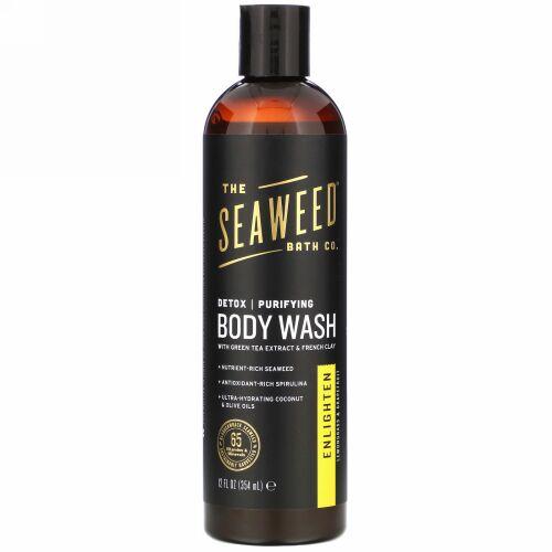 The Seaweed Bath Co., Detox Purifying Body Wash, Enlighten, Lemongrass & Grapefruit, 12 fl oz (354 ml)