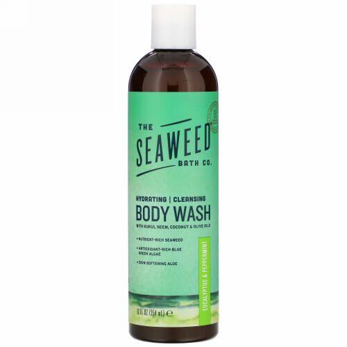 The Seaweed Bath Co., Hydrating Cleansing Body Wash, Eucalyptus & Peppermint, 12 fl oz (354 ml)