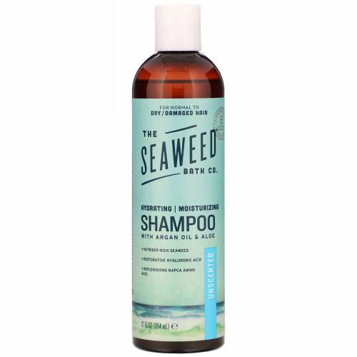 The Seaweed Bath Co., Hydrating Moisturizing Shampoo, Unscented, 12 fl oz (354 ml)