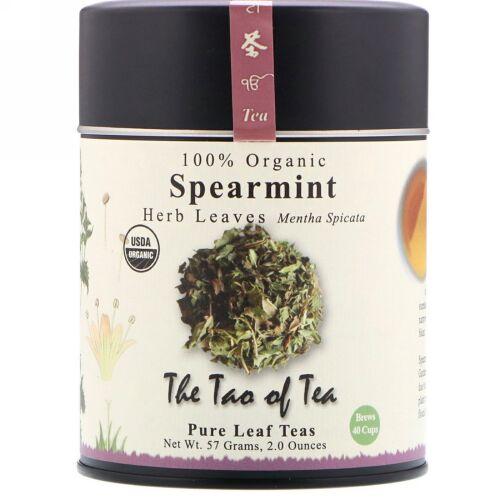 The Tao of Tea, 100%オーガニック, ハーブの葉, スペアミント, 2.0オンス (57 g) (Discontinued Item)
