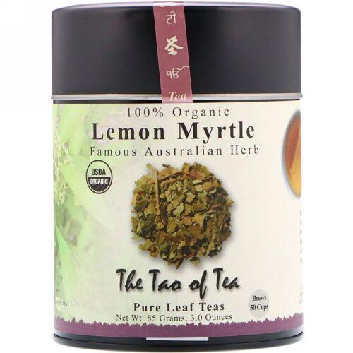The Tao of Tea, 100%オーガニックレモンマートル、名高いオーストラリア産ハーブ、カフェインフリー、3オンス (85 g) (Discontinued Item)