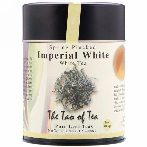 The Tao of Tea, 春に摘んだ白茶、インペリアルホワイト、1.5 oz (43 g)