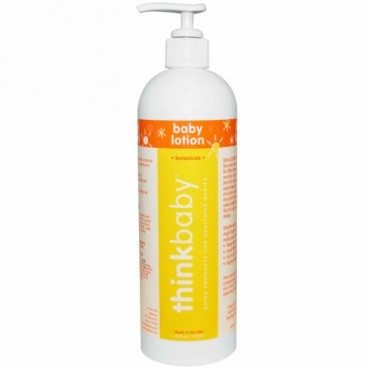 Think, Thinkbaby, Baby Lotion, 16 fl oz (473 ml) (Discontinued Item)