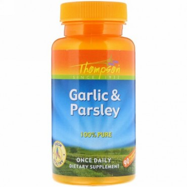 Thompson, Garlic & Parsley, 90 Vegetarian Capsules