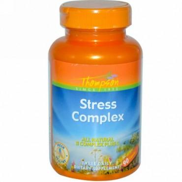 Thompson, ストレス コンプレックス、90カプセル