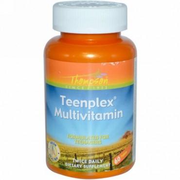 Thompson, ティーンプレックス マルチビタミン、60錠 (Discontinued Item)