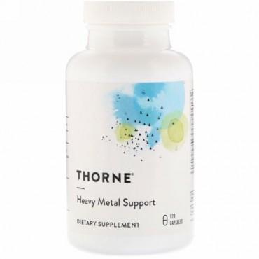 Thorne Research, 重金属サポート、120カプセル