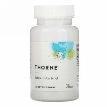 Thorne Research, インドール-3-カルビノール, 60 ベジキャップス