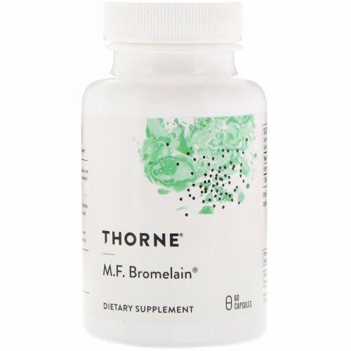 Thorne Research, M.F.ブロメライン、 60ベジキャップ
