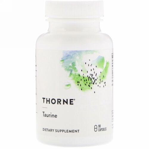 Thorne Research, タウリン, 90 ベジキャップ