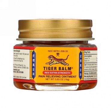 Tiger Balm, 痛み軽減軟膏, エクストラストレングス, 0.63 オンス (18 g)