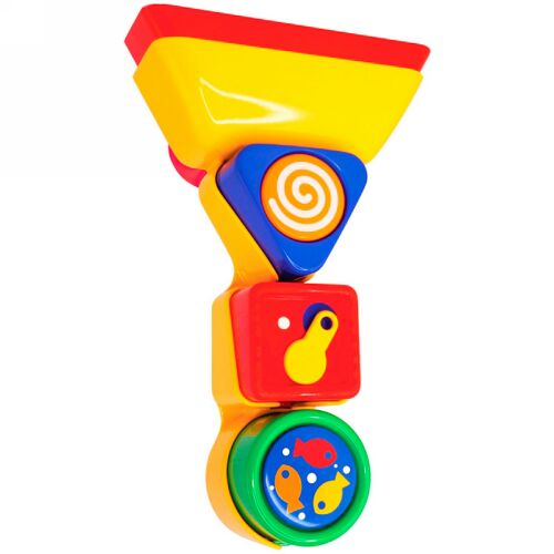 Tolo Toys, Bathtime Pour And Spin Shape Sorter, 12+ Months (Discontinued Item)