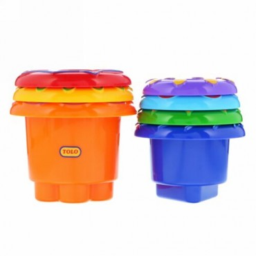 Tolo Toys, Rainbow Stacker, 6+ Months (Discontinued Item)