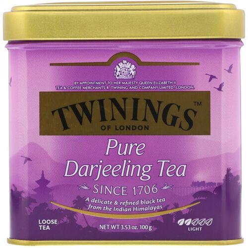 Twinings, Pure Darjeeling Tea, 3.53 oz (100 g) (Discontinued Item)
