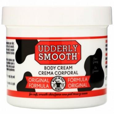 Udderly Smooth, ボディクリーム, オリジナルフォーミュラ, 12オンス (340 g)