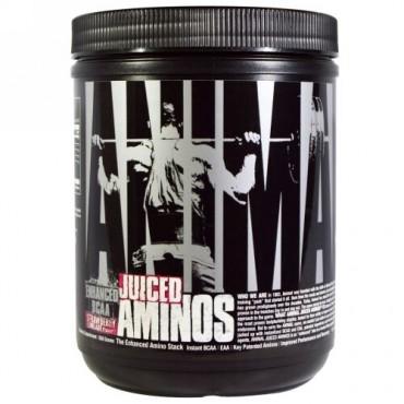 Universal Nutrition, アニマルジュースドアミノ、ストロベリーライムエード風味、358g