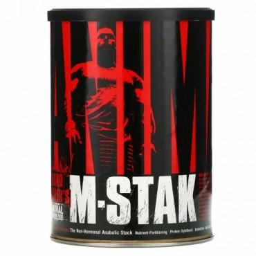 Universal Nutrition, アニマルM-Stak, 非ホルモン同化作用スタック(The Non-Hormonal Anabolic Stack), 21パック