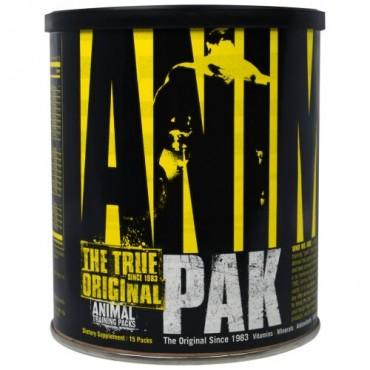 Universal Nutrition, アニマルパック、 トレーニングサプリメント、 15パック (Discontinued Item)