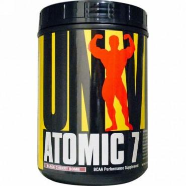 Universal Nutrition, アトミック7、 BCAAパフォーマンス用サプリメント、 ブラックチェリーボム、 2.2ポンド (1 kg) (Discontinued Item)
