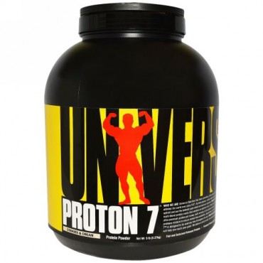 Universal Nutrition, プロトン7、クッキー&クリーム、5ポンド(2.27kg) (Discontinued Item)