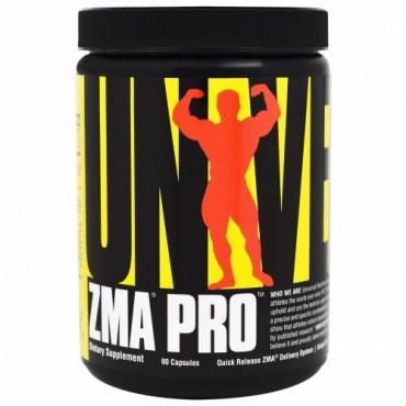 Universal Nutrition, ZMA プロ、ホルモンサポートサプリメント、カプセル90錠 (Discontinued Item)