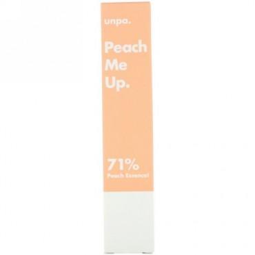 Unpa., ピーチミーアップ、トーンアップクリーム、40 ml (Discontinued Item)