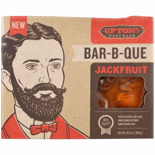 Upton's Naturals, ジャックフルーツ、バーベキュー、10.6 oz (300 g) (Discontinued Item)