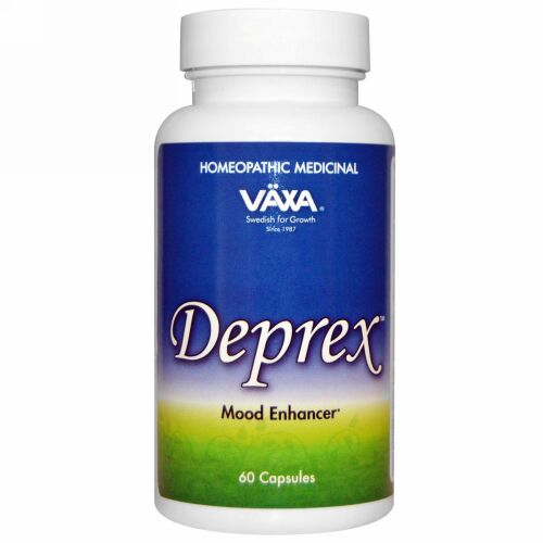 Vaxa International, Deprex、カプセル 60 錠 (Discontinued Item)