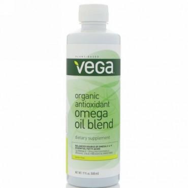 Vega, オーガニックアンチオキシダント・オメガオイルブレンド、17液量オンス (500 ml) (Discontinued Item)