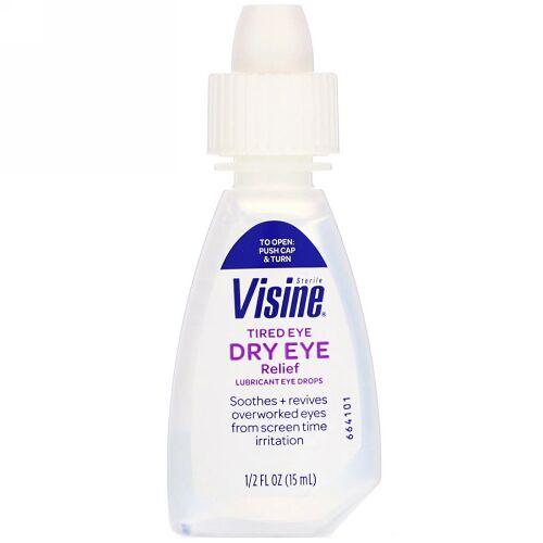 Visine, Tired Eye Dry Eye Relief, Sterile, 1/2 fl oz (15 ml) (Discontinued Item)