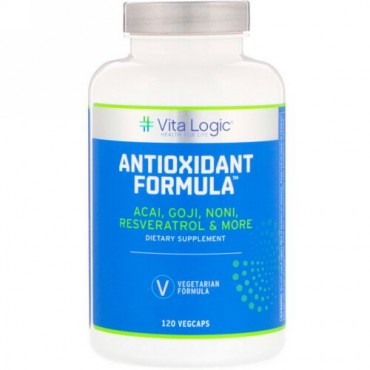 Vita Logic, 抗酸化フォーミュラ、ベジカプセル120錠 (Discontinued Item)