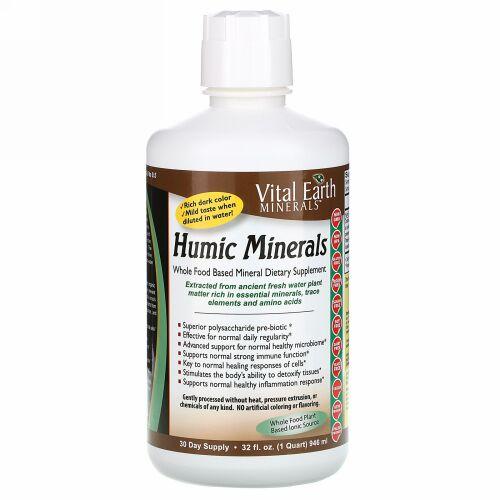 Vital Earth Minerals, フミックミネラル、946ml(32fl oz)