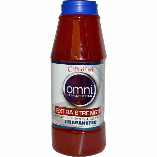 Wellgenix, Omni, Cleansing Drink, Extra Strength, Fruit Punch, 16 fl oz (473 ml) (Discontinued Item)
