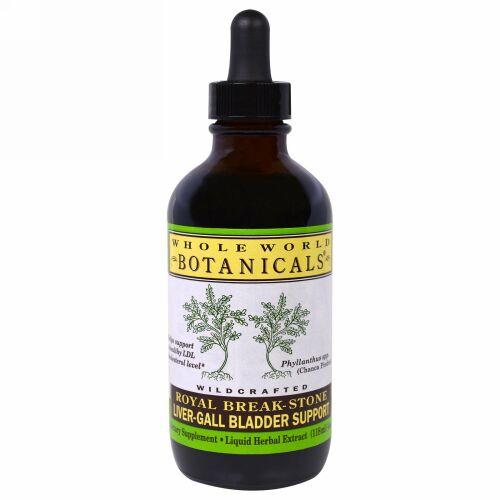 Whole World Botanicals, ロイヤルブレークストーン、肝臓/胆嚢サポート、4 oz (118 ml)