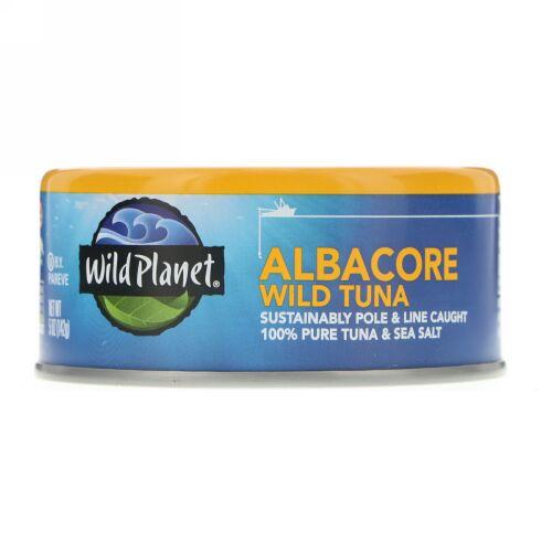 Wild Planet, ワイルド・アルバコアツナ(天然ビンナガマグロ)、5 oz (142 g)